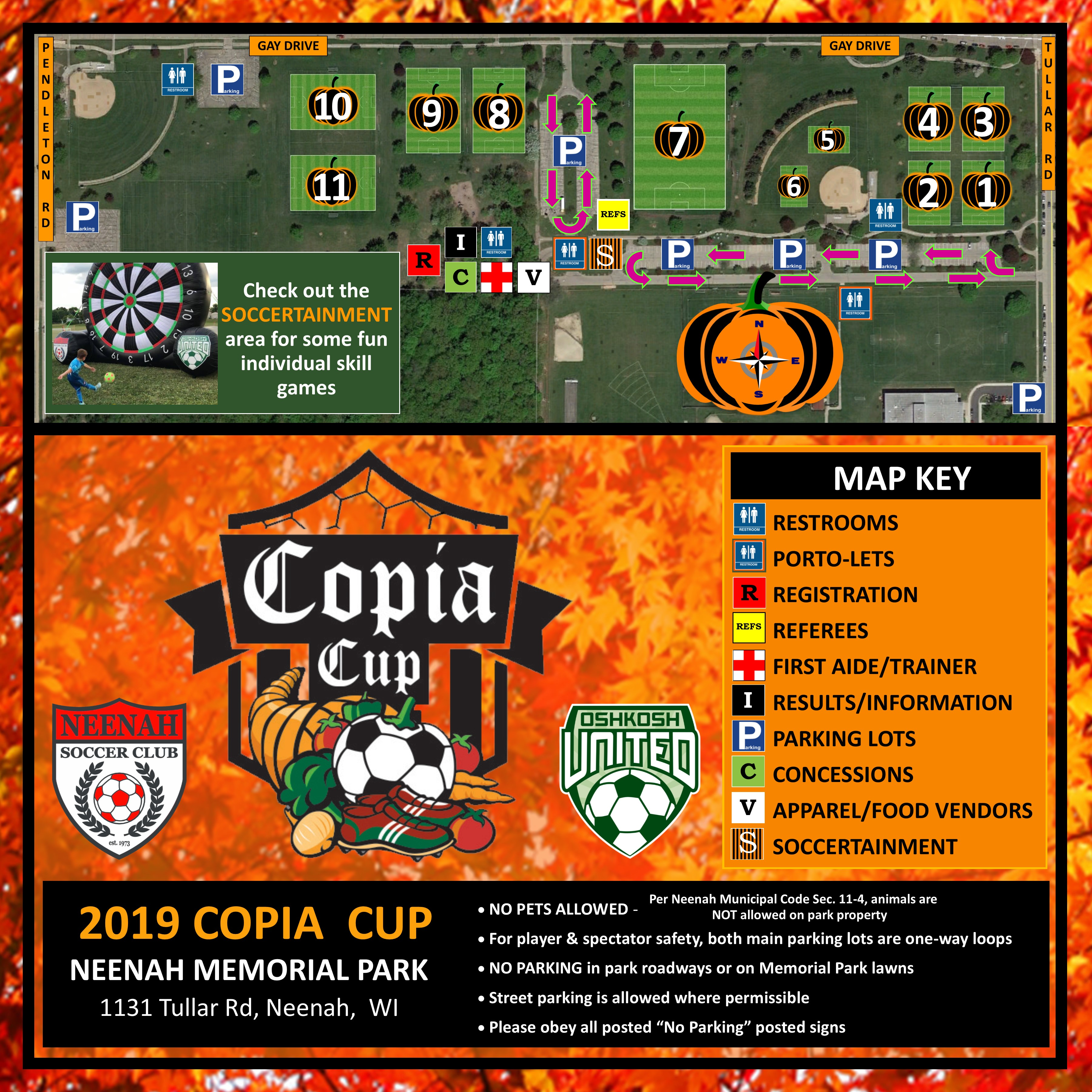 Copia Cup Map 2019